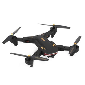 VISUO XS809S RC Drone WiFi FPV Wide Angle 720P Camera Altitude Hold Foldable Headless Mode One Key - MBMCITY