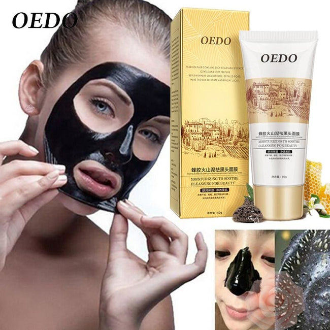 Volcanic Soil Facial Mask Acne Remove Blackhead Mite Propolis Face Care Treatment Repair Whitening - MBMCITY