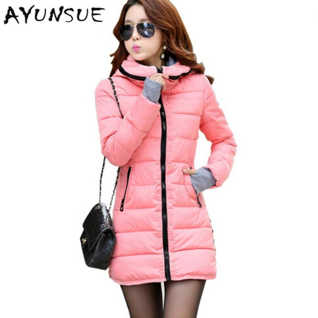 Winter Jacket Women Winter And Autumn Wear High Quality Parkas Winter Jackets Outwear Women - MBMCITY