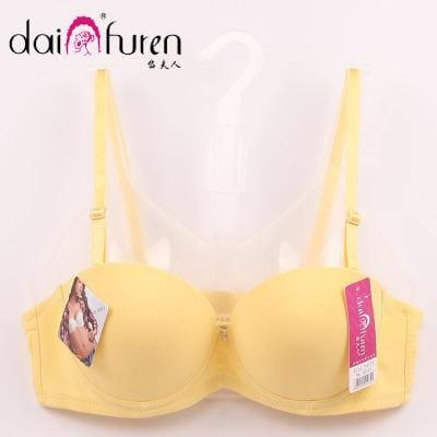 Women Brassiere Sexy Double Push Up Bra Super Women Push Up Bra B Cup Sexy Lady Women Push Up Bra - MBMCITY