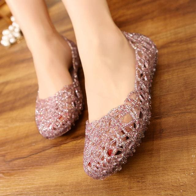 Women's Sandals 2017 Fashion Lady Girl Sandals Summer Women Casual Jelly Shoes Sandals Hollow Out - MBMCITY