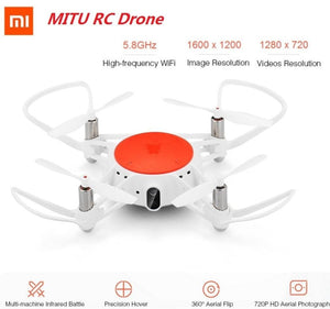 Xiaomi MITU WIFI FPV 360 Degree RC Drone Xiaomi RC Drone 720P HD Camera WiFi Remote Control Camera - MBMCITY