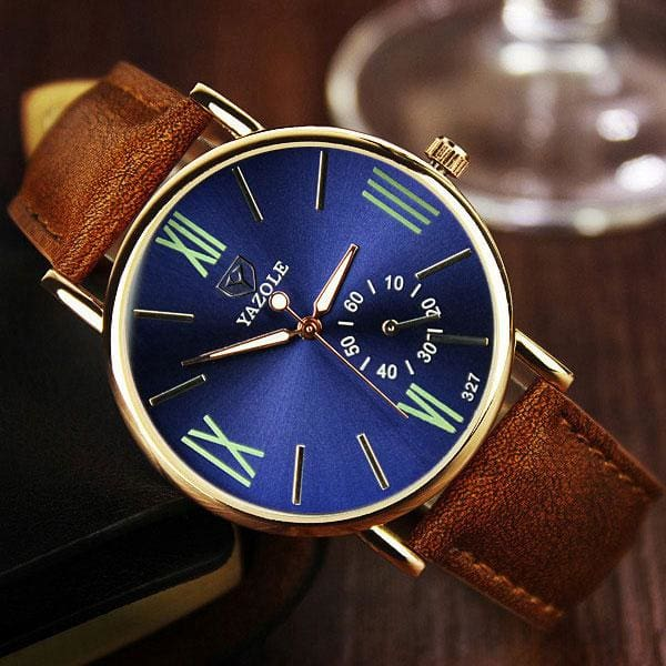 YAZOLE Wristwatch 2017 Wrist Watch Men Top Brand Luxury Famous Male Clock Quartz Watch for Men - MBMCITY