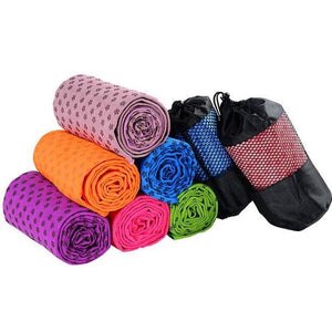 Yoga Blankets Anti Slip Soft Travel Sport Fitness Exercise Yoga Pilates Mat Cover Towel Blanket