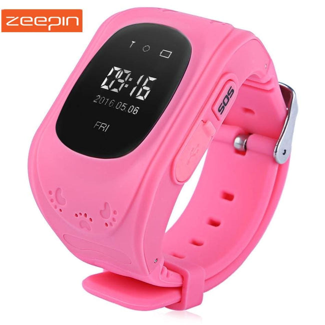 Zeepin Q50 Smart Telephone Watch Kids GPS SOS Call Locator Track Anti-Lost OLED/LCD Baby Safe - MBMCITY