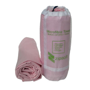 Zipsoft Beach Towel Wraps Microfiber 2017 Brand Mesh Bag Fabric Sports Quick Dry Bath Travel Hike Pink / 80Cm 160Cm / China