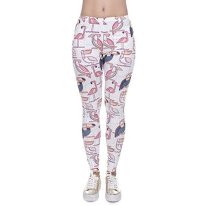 Zohra High Quality Women Legins Mandala Ombre Blue Printing Legging Fashion Casual High Waist Woman.