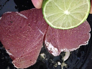 Abs Essential Recipe 1 - Tuna Steak With Lime