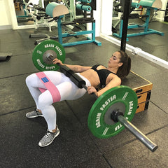 Barbell Hip Thrust With Band