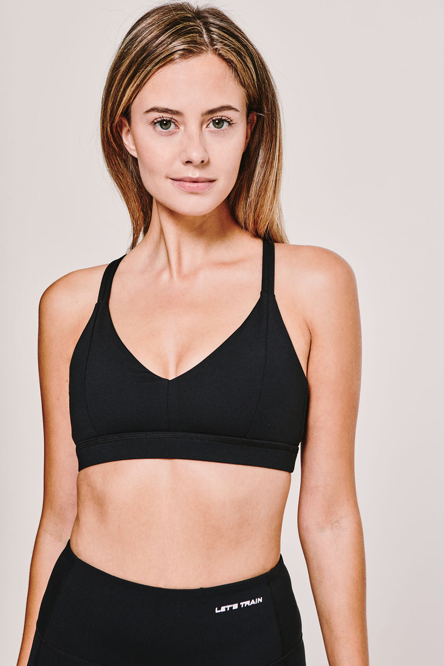 f7f6e46afd79c The Amina Sports Bra in Black