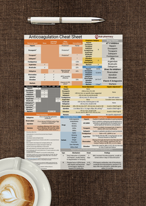tl;dr pharmacy Anticoagulation/Antiplatelet Cheat Sheet
