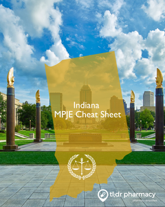 MPJE Cheat Sheet: Indiana