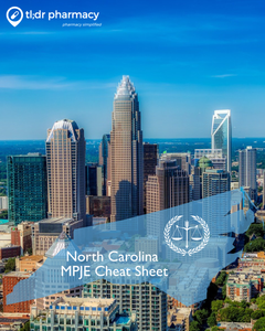 MPJE Cheat Sheet: North Carolina