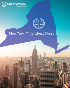 MPJE Cheat Sheet: New York
