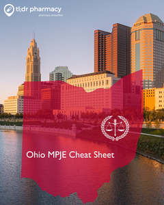 MPJE Cheat Sheet: Ohio