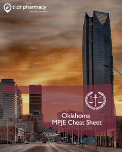 MPJE Cheat Sheet: Oklahoma