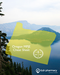 MPJE Cheat Sheet: Oregon