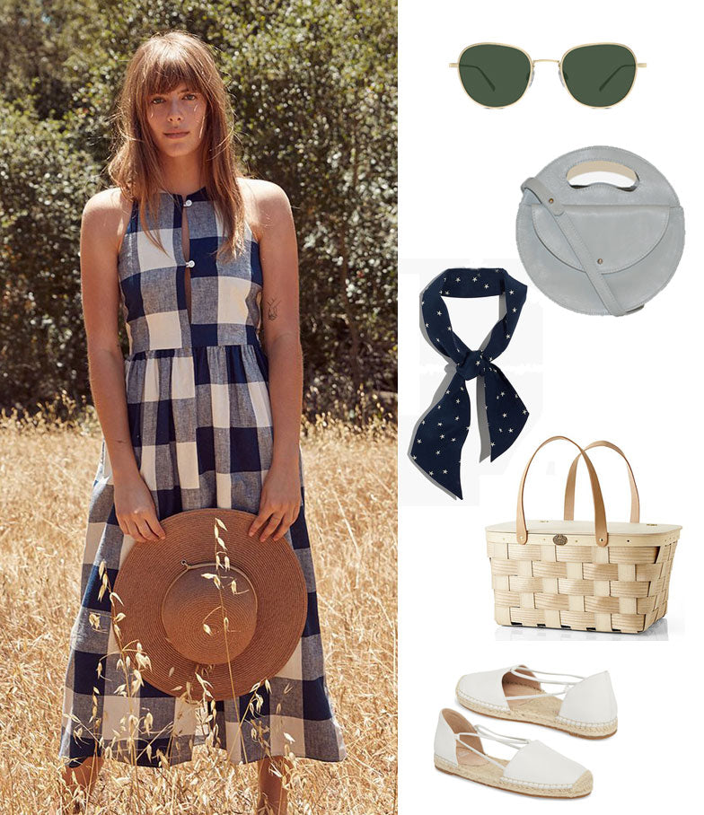 It's Picnic Season: 5 Easy Recipes and 1 Perfect Outfit