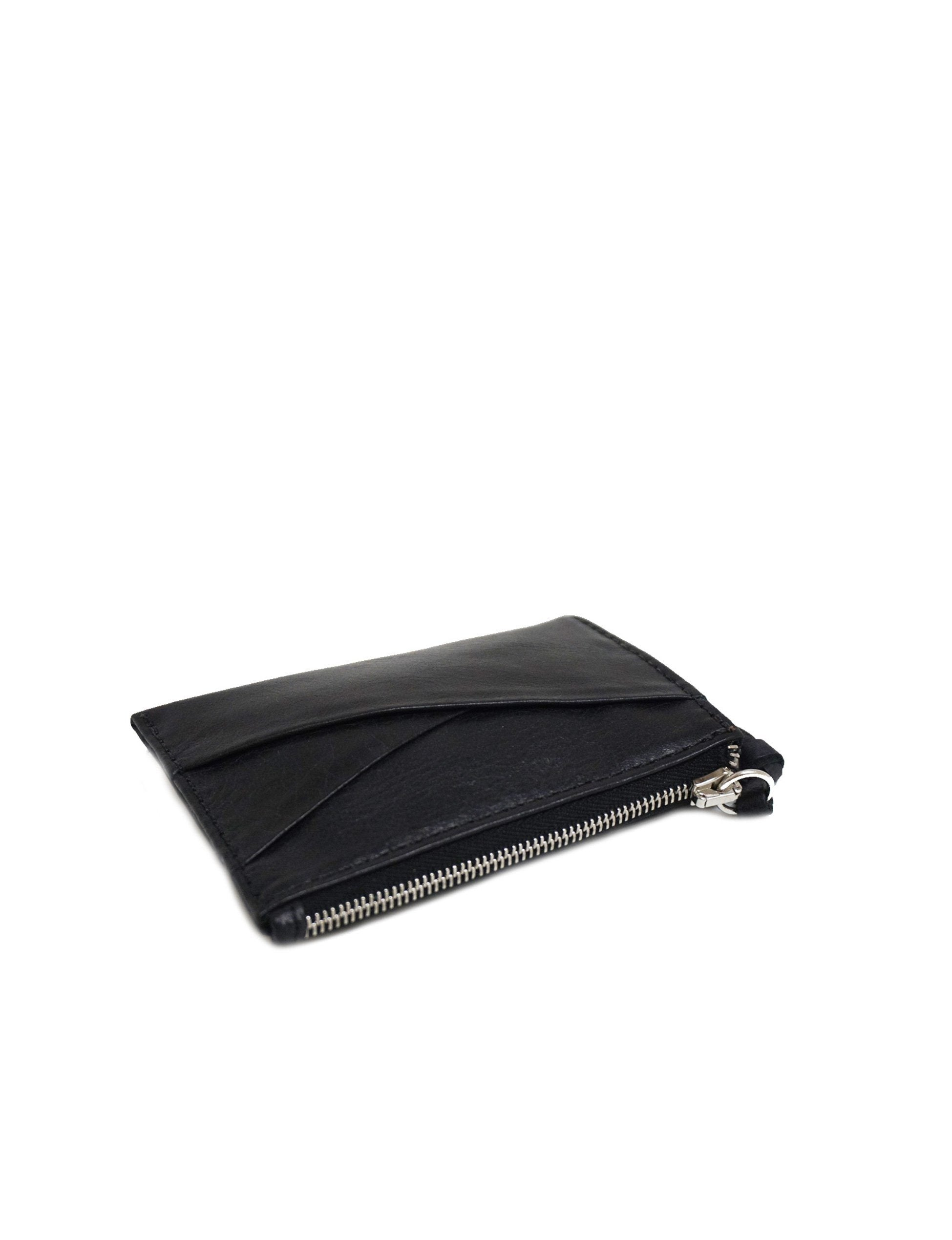 Slim Zipper Card Wallet