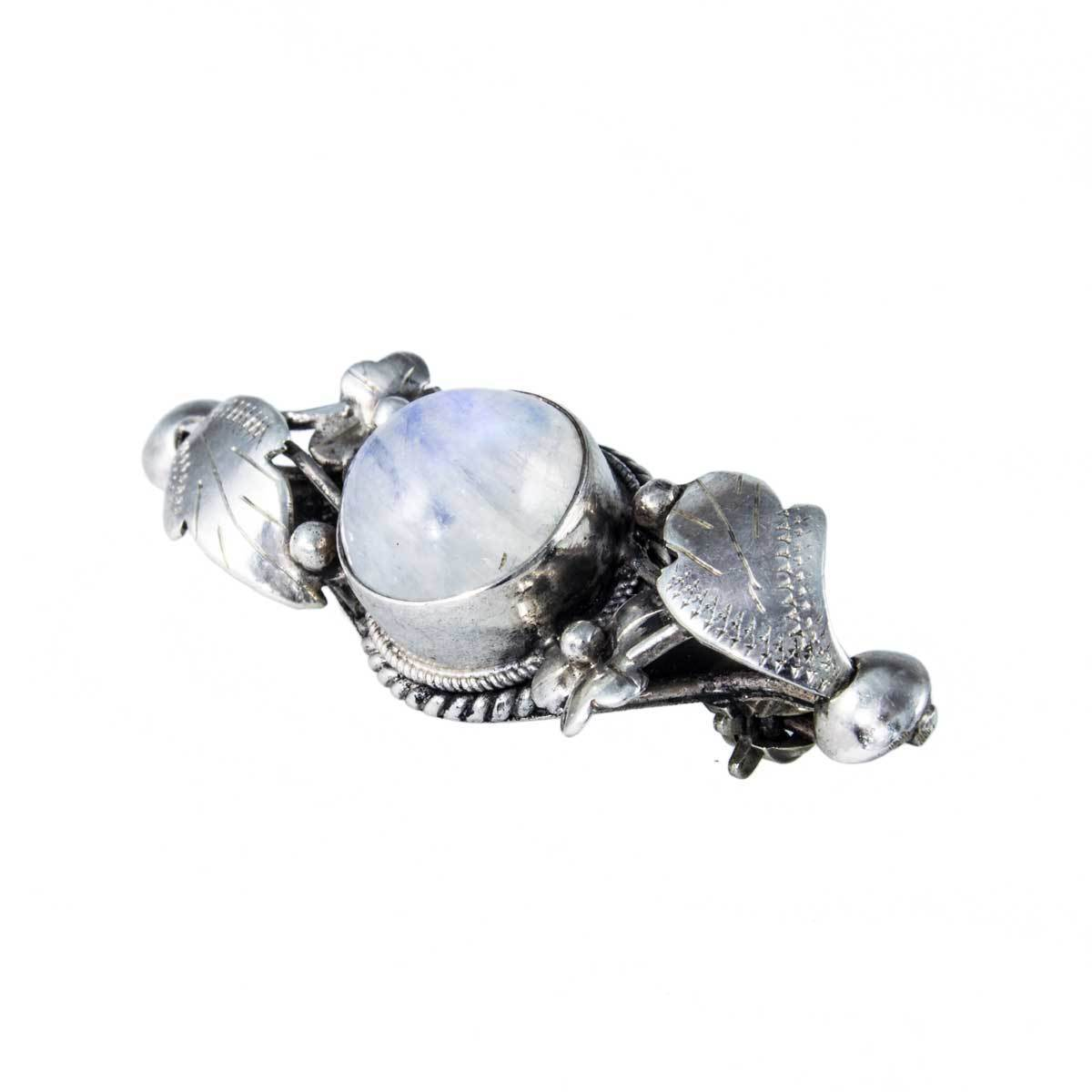 crown a expand click brooch to rl moonstone full shield item philippe trifari pin sterling