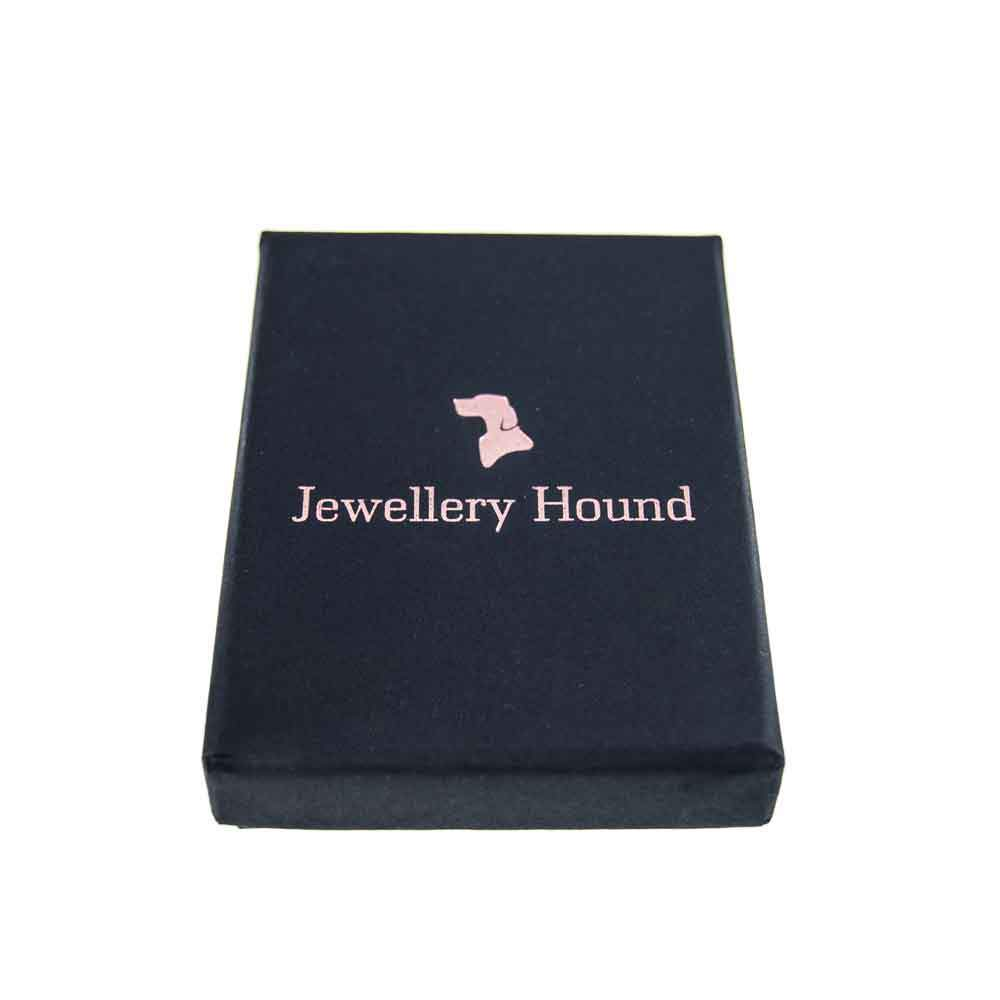 e99e0182512 Jewellery Hound Costume Jewellery An 'Art Deco' Style Small Clear and Light  Blue Vintage