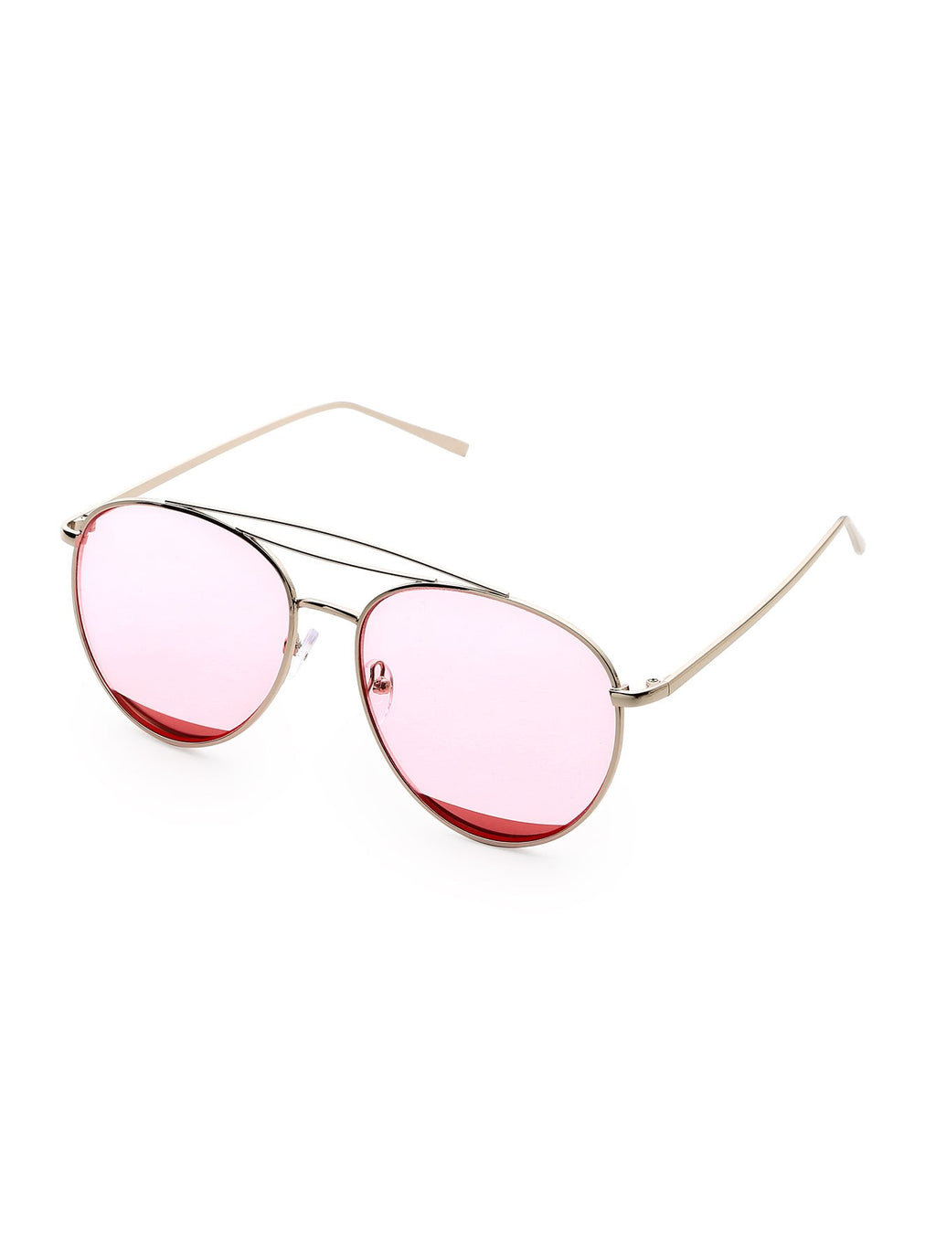 Metal Top Bar Aviator Sonnenbrille