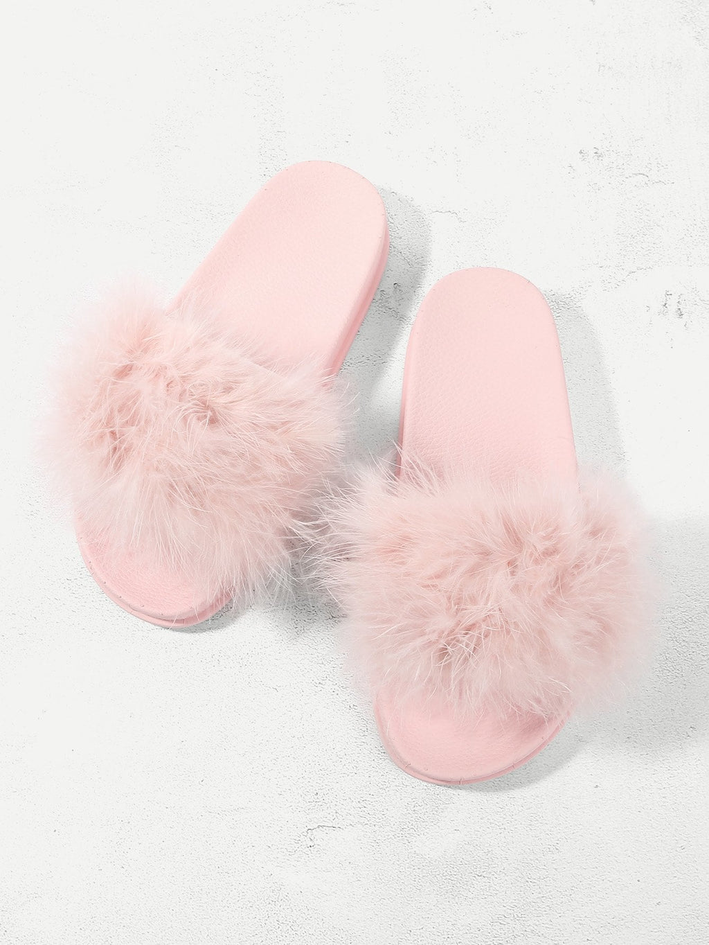 Pink Casual  Pantoffeln