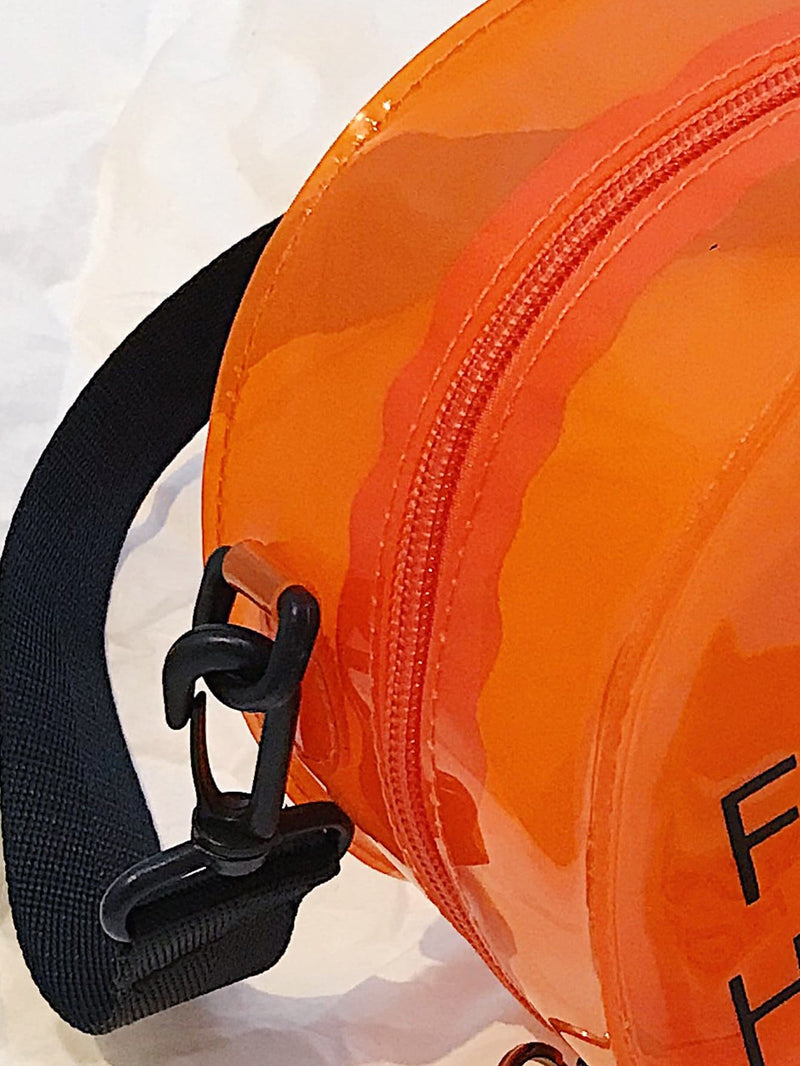 Lässig orange Crossbody