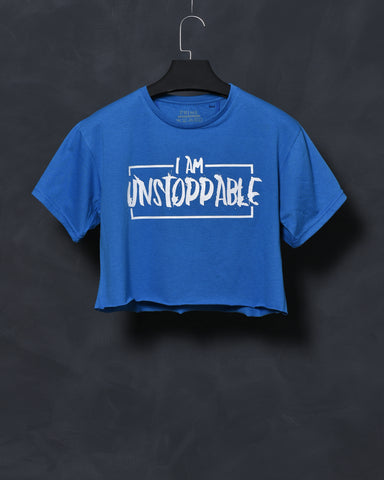 Unstoppable - Blue Top for Women