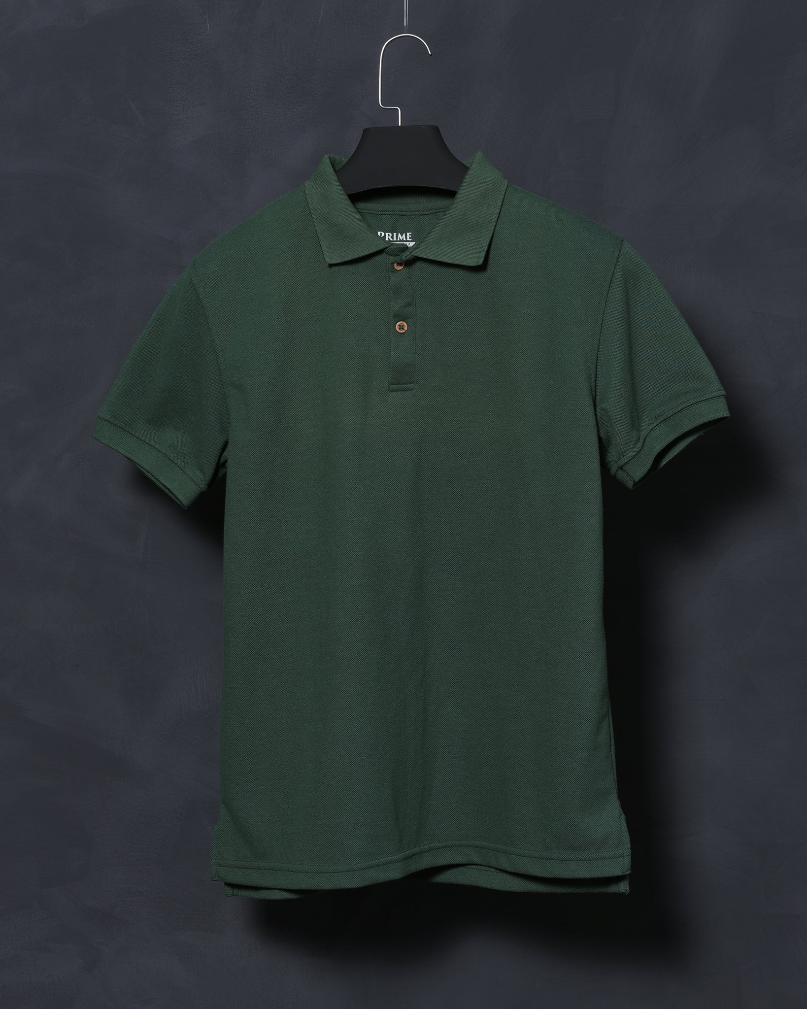 Olive Green Polo T-shirt for Men