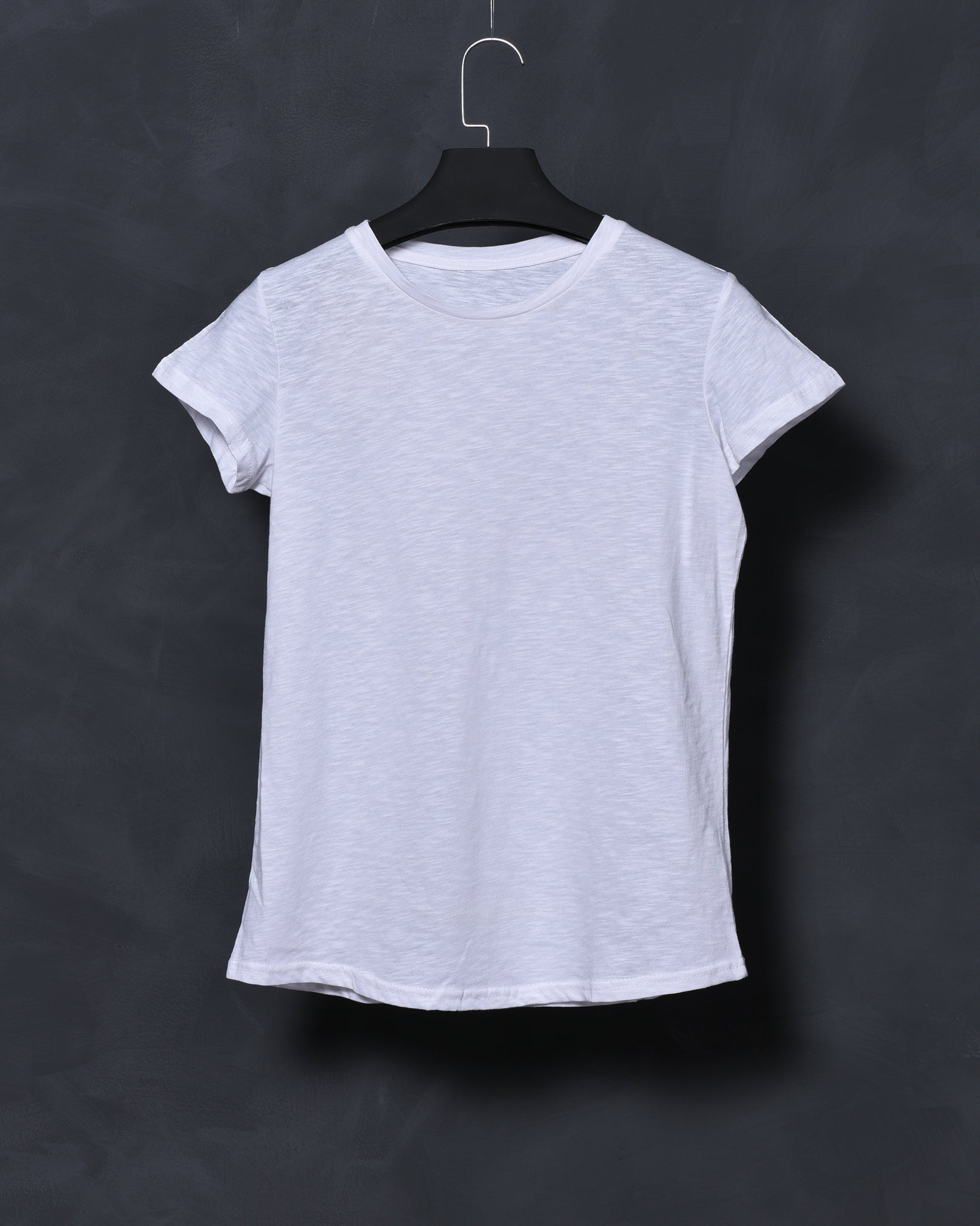White Fit T-shirt for Women