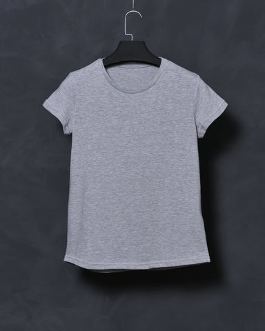 Heather Grey Fit T-shirt for Women