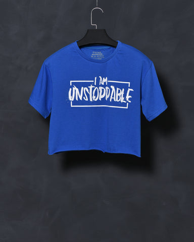 Unstoppable - Royal Blue Top for Women