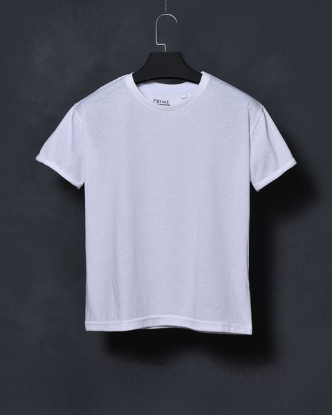 White Oversized T-shirt for Women