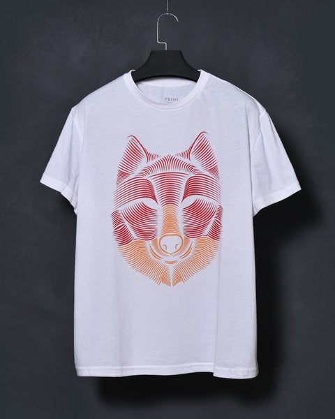 Armenian Wolf - White T-shirt