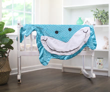 Finn the Shark Happy Blankie