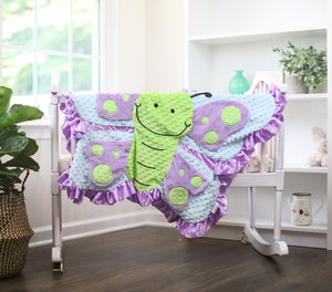 Hope the Butterfly Happy Blankie