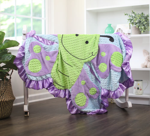 Large Hope the Butterfly Happy Blankie