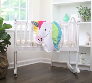 Small Confetti the Unicorn Happy Blankie