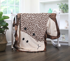 Large Stretch the Giraffe Happy Blankie®