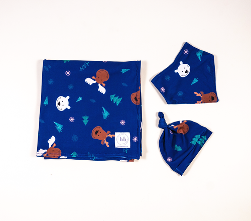 Swaddle Bundle [Blue]