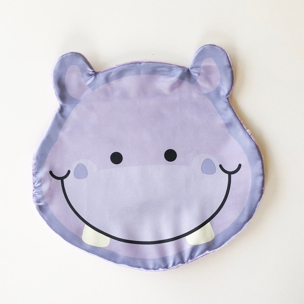Wiggle the Hippo - Satin Mini