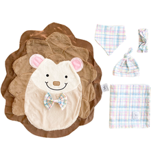 Hug Pastel Plaid Swaddle Set