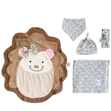 Hug Blue Bloom Swaddle Set