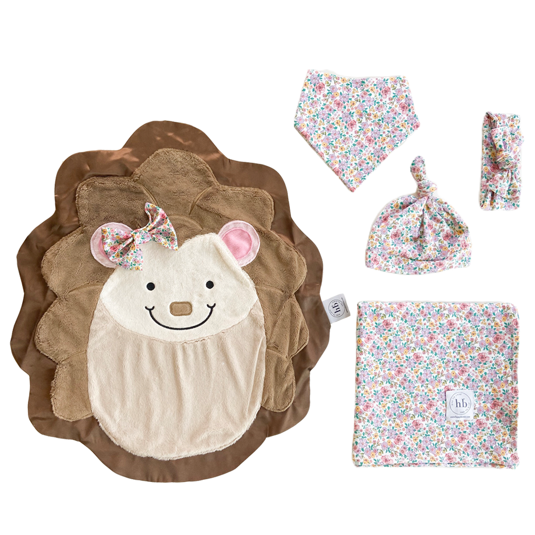 Hug Lavender Bloom Swaddle Set
