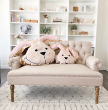 Hop the Bunny Happy Pillow