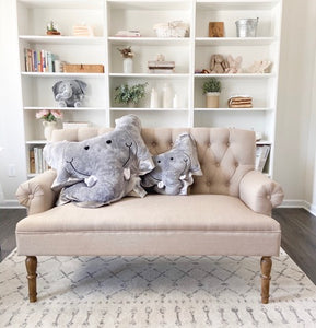 Rumble the Elephant Happy Pillow