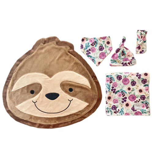 Snooze Fall Bloom Swaddle Set