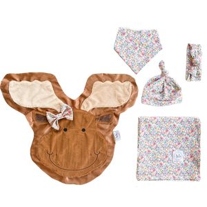 Monty Lavender Bloom Swaddle Set