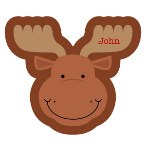 Monty the Moose Happy Blankie